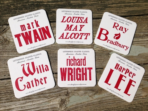 Coasters, American Novelists