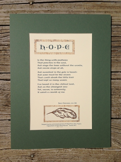 HOPE Broadside