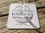 Schwaner Coasters Wine Glass Stem