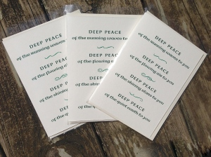 Deep Peace three