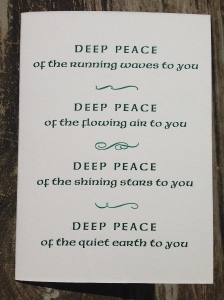 Deep Peace front