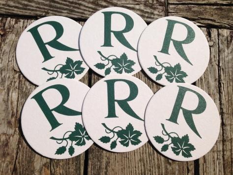 Monogrammed Coasters R