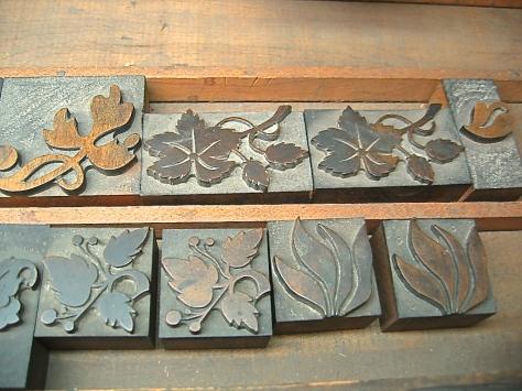 Monogrammed Coasters, flourishes